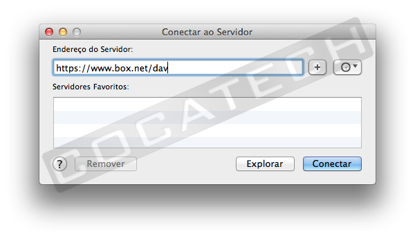 boxnetconnect Usando o Box.net no Mac OS X