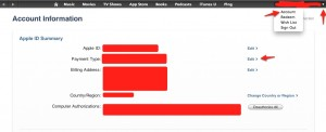 iTunesaccount 300x122 Como deletar sua conta na iTunes Store?