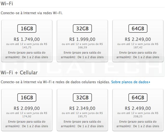 iPad4-precosBR