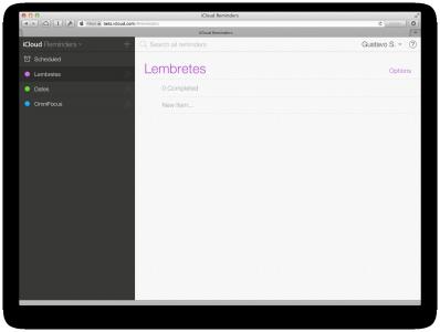 iCloud-beta-lembretes