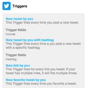 ifttt-twitter-triggers