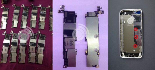 iPhone-5c-placa-logica-varias