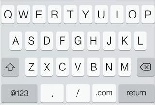 iOS7-teclado-url