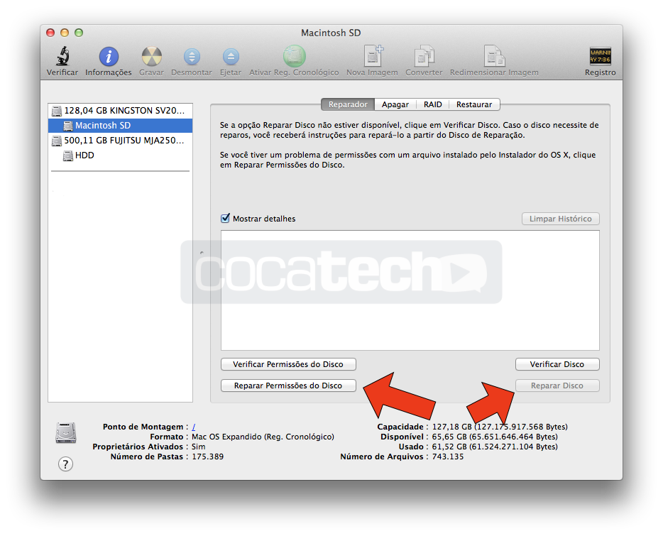 mavericks-reparar-permissoes