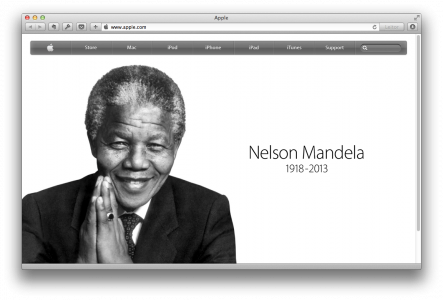 Apple-nelson-mandela