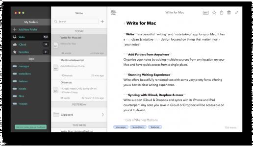 WriteForMac