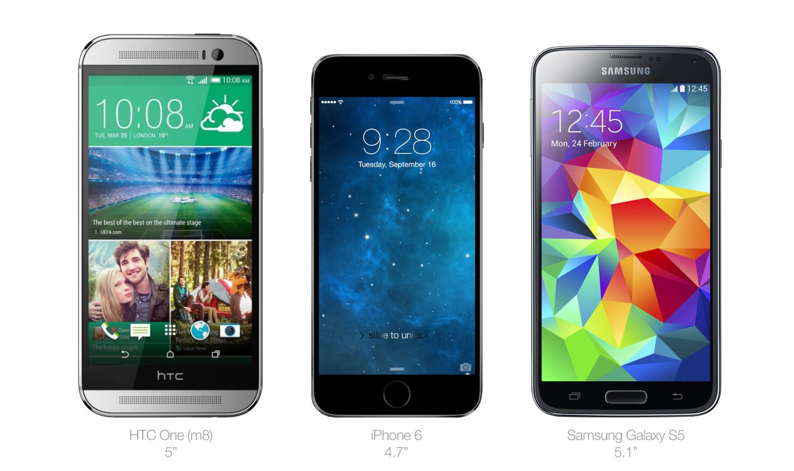 iPhone-6s-vs-Android-tamanho-2