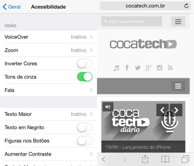 iOS-8-tons-de-cinza