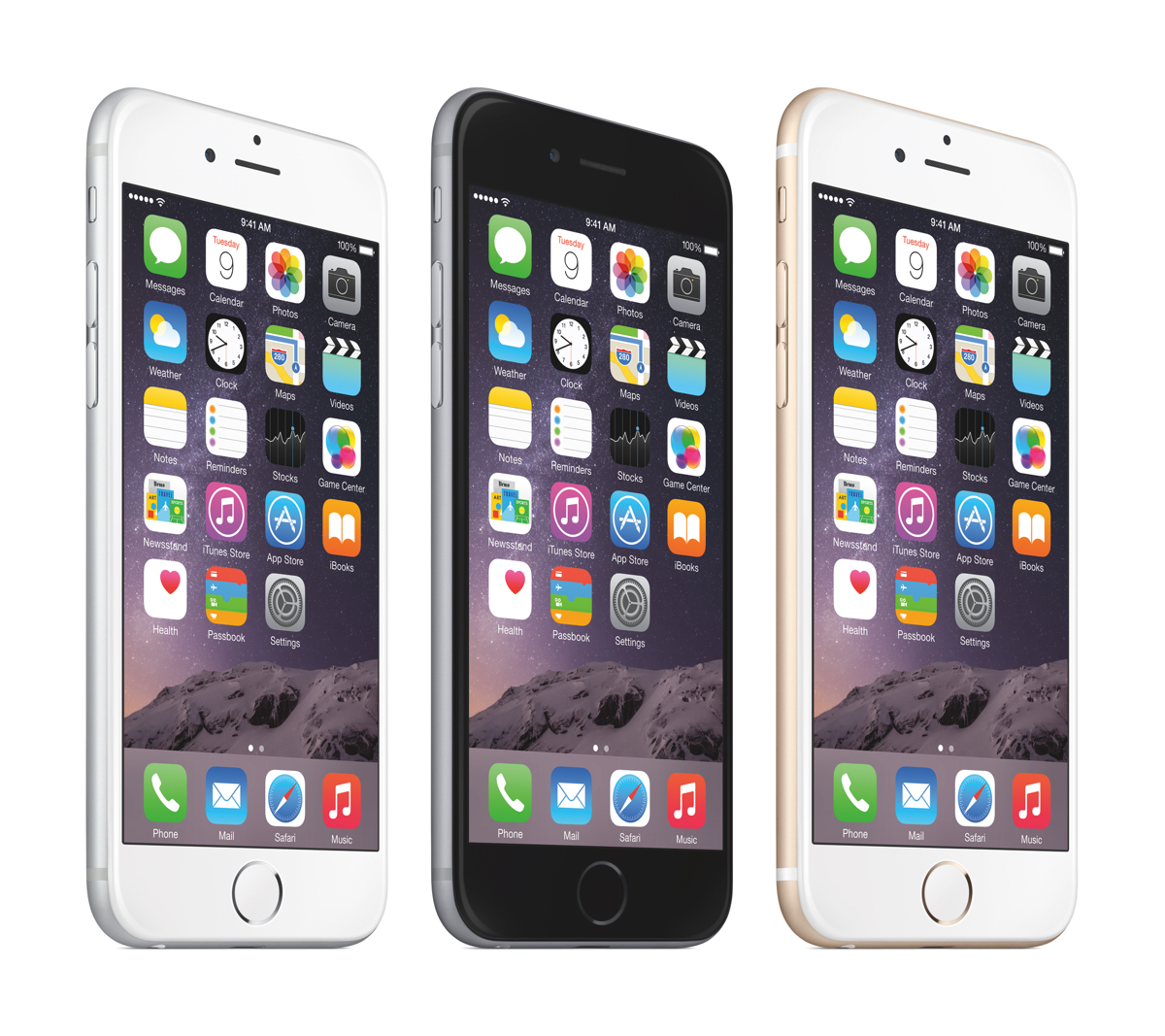 Plus Apple iPhone 6 Colors