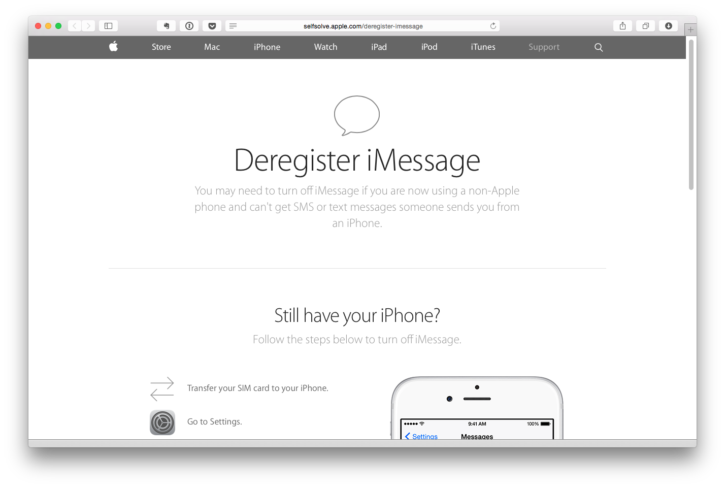deregistrando-o-imessage