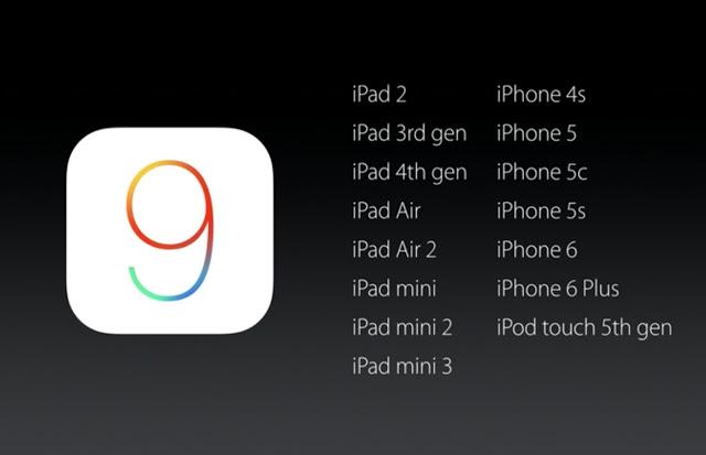 iOS-9-compatibilidade