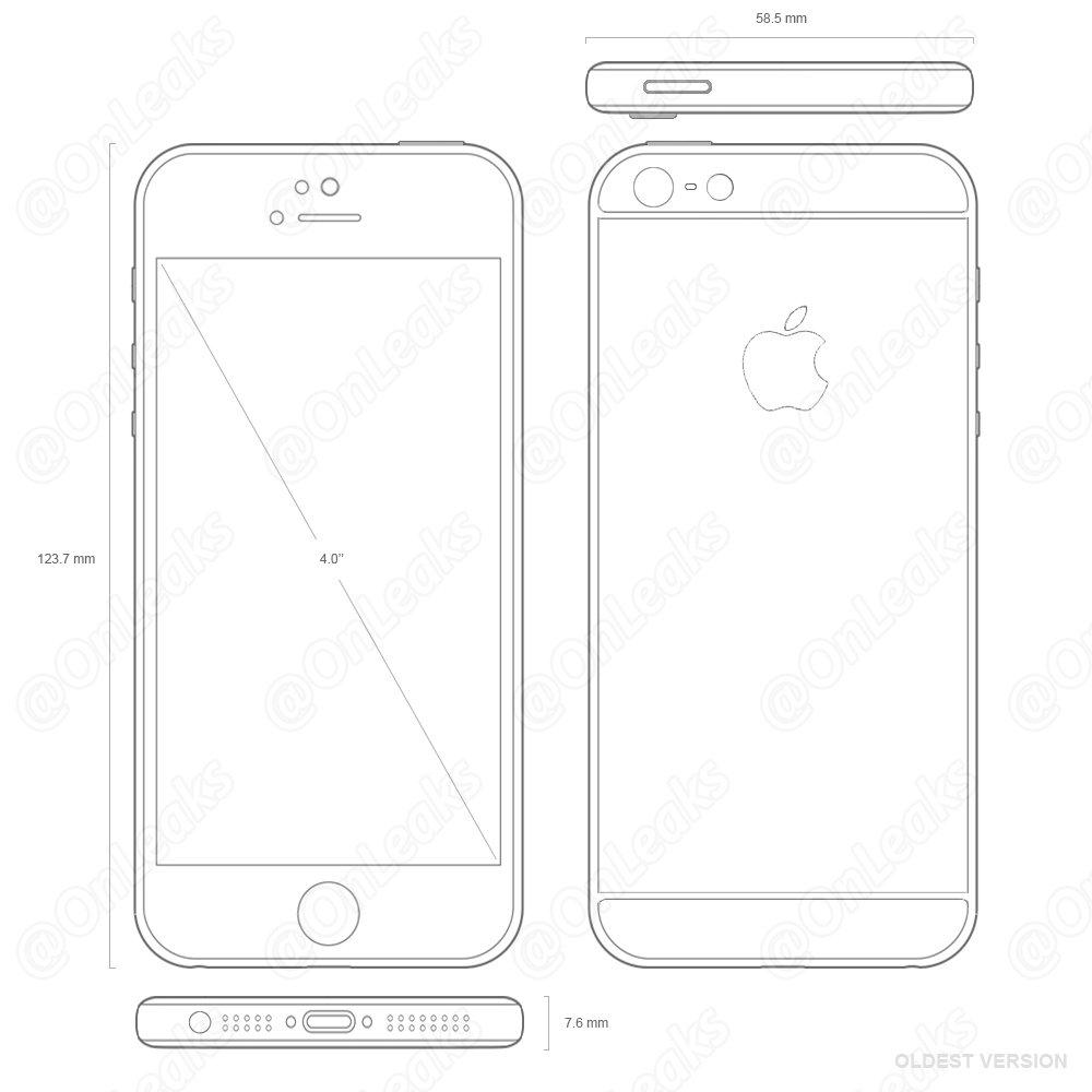 E não é que o iPhone 5se é um iPhone 5s?!