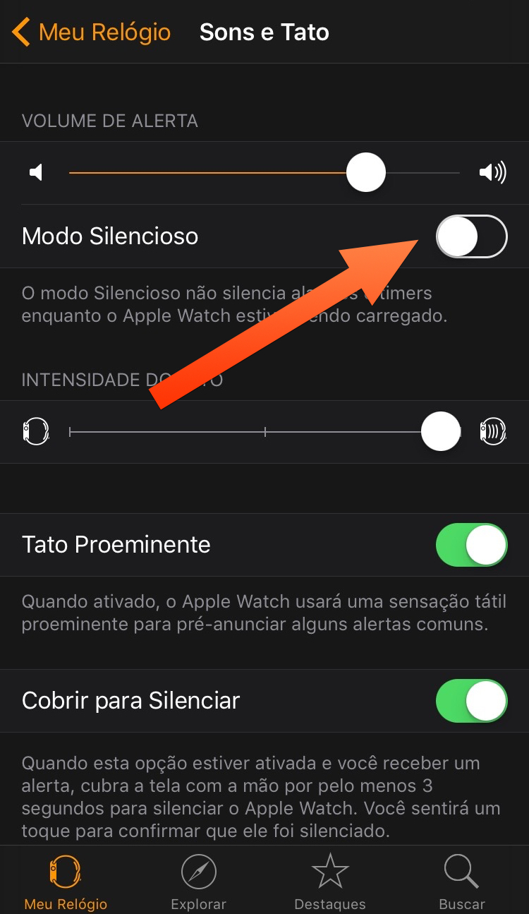 como-silenciar-o-apple-watch-iphone